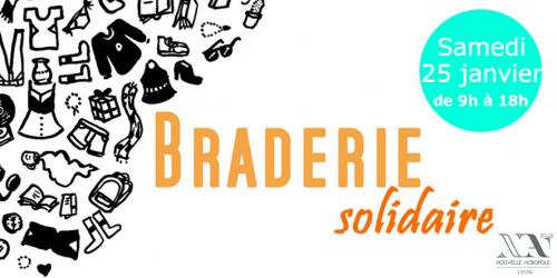 Braderie solidaire aux livres et aux vêtements