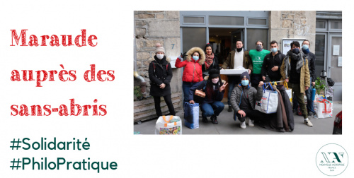 Volontariat social : maraudes auprès des sans-abris
