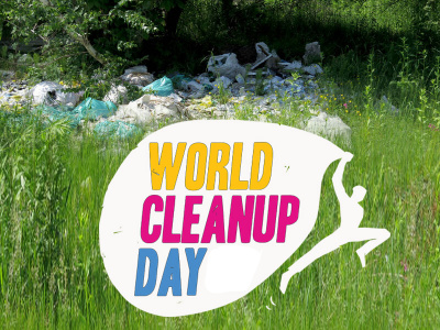 World Clean-Up Day : ramassage de déchets