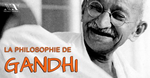 La philosophie de Gandhi  - Conférence-Atelier