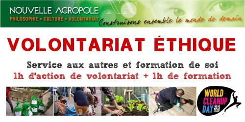 Volontariat éthique : Préparation du World Clean-Up Day + Théorie